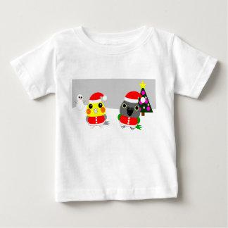 オウム de papegaai van Cockatiel & van Senegal als Baby T Shirts