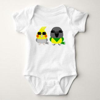 オカメインコオウム de papegaai van Cockatiel & van Senegal Romper
