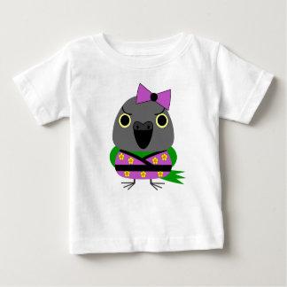 ネズミガシラハネナガインコオウム de Papegaai van Senegal in Kimono Baby T Shirts