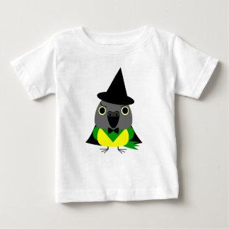 ネズミガシラハネナガインコオウム de papegaai van Senegal voor Baby T Shirts