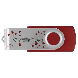 你愿意嫁给我吗 USB door DAL