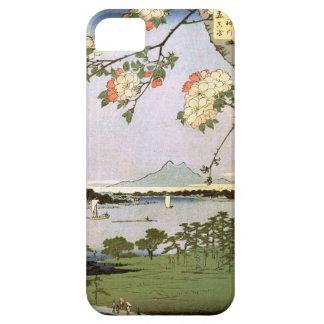 江戸の桜, 広重 de Bloesems van de Kers van Edo, Barely There iPhone 5 Hoesje