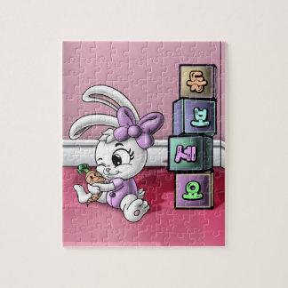 돌보세요 (Zorg) het Raadsel van 8 x 10 Foto met de Puzzel
