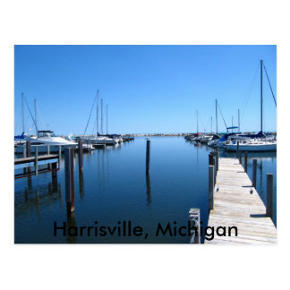 026, Harrisville, Michigan Briefkaart