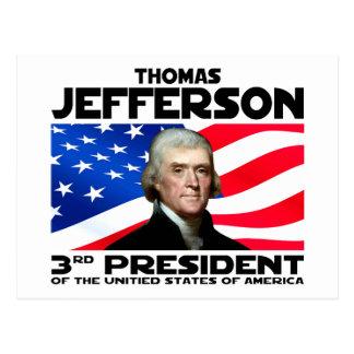 03 Thomas Jefferson Briefkaart