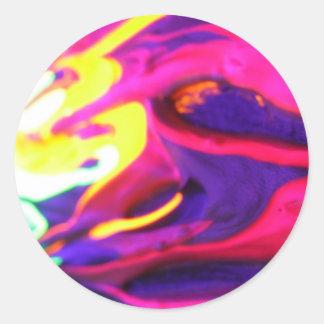 """#04 de Reeks van de """"Fantasmagorie"""" van Ronde Sticker"""