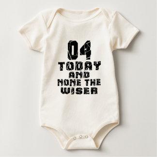 04Today en niets Wijzer Baby Shirt