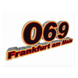 069 Frankfurt-am-Main Briefkaart