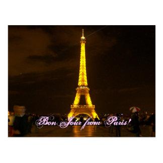 100_0432, BonJour van Parijs! Briefkaart