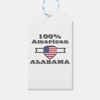 100% Amerikaan, Alabama Cadeaulabel