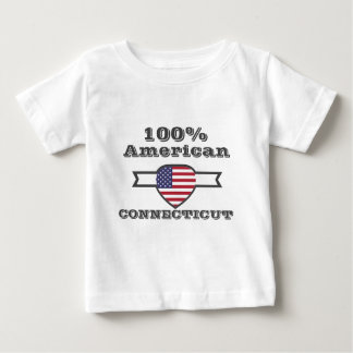 100% Amerikaan, Connecticut Baby T Shirts