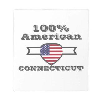 100% Amerikaan, Connecticut Notitieblokken