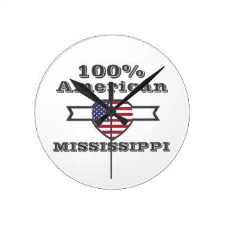 100% Amerikaan, de Mississippi Ronde Klok