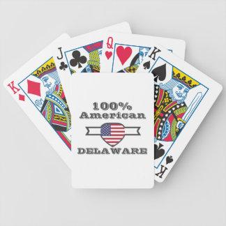 100% Amerikaan, Delaware Poker Kaarten