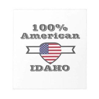 100% Amerikaan, Idaho Kladblokken