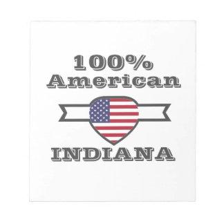 100% Amerikaan, Indiana Notitieblokken