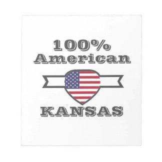 100% Amerikaan, Kansas Notitieblok