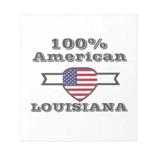 100% Amerikaan, Louisiane Notitieblok