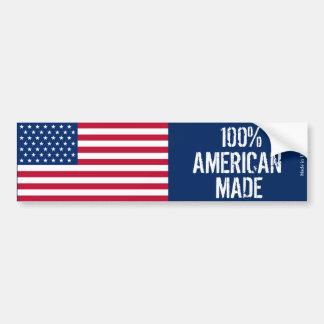 100% Amerikaan maakte de Sticker van de Bumper