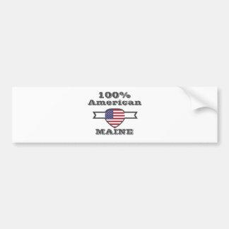 100% Amerikaan, Maine Bumpersticker