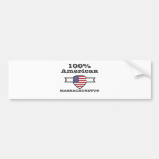 100% Amerikaan, Massachusetts Bumpersticker