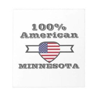 100% Amerikaan, Minnesota Notitieblokken