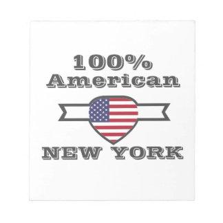 100% Amerikaan, New York Kladblokken
