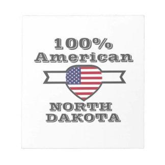 100% Amerikaan, Noord-Dakota Notitieblok