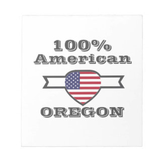 100% Amerikaan, Oregon Notitieblok
