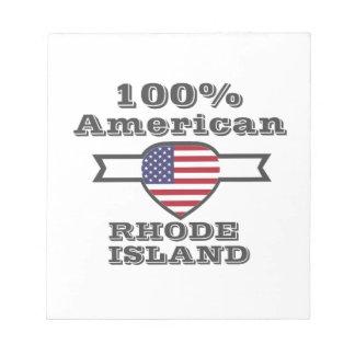 100% Amerikaan, Rhode Island Notitieblokken