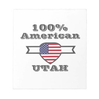 100% Amerikaan, Utah Notitieblokken