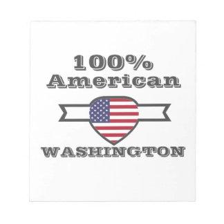 100% Amerikaan, Washington Kladblok