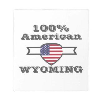100% Amerikaan, Wyoming Kladblokken