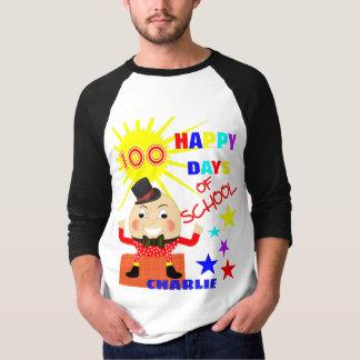 100 dagen van de Pret Humpty Gepersonaliseerde T Shirt
