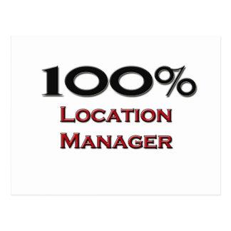 100 de Manager van de Plaats van percenten Briefkaart