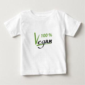 100 de Veganist van percenten Baby T Shirts