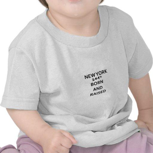 100% Geboren en Opgeheven New York Shirt