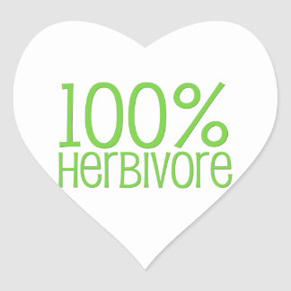 100% Herbivore Hart Sticker