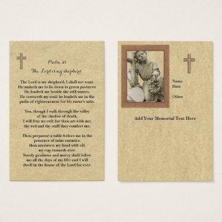 100 Kaarten van het Gebed van x HerdenkingsLord Is Visitekaartjes
