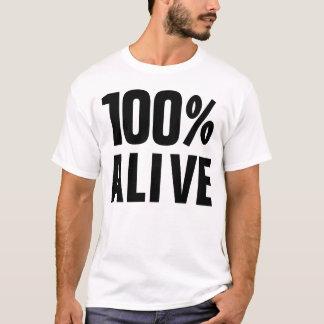 100% Levende 100% ja T Shirt