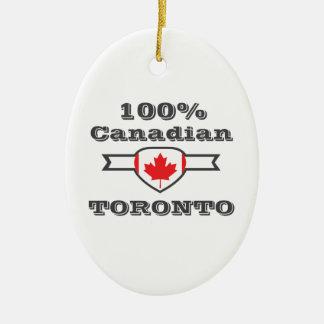 100% Toronto Keramisch Ovaal Ornament