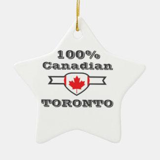 100% Toronto Keramisch Ster Ornament