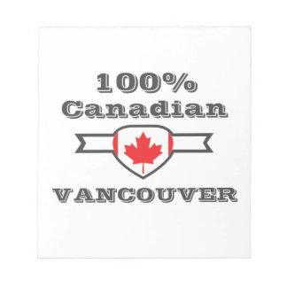 100% Vancouver Notitieblok