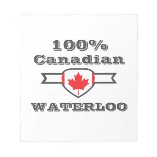 100% Waterloo Notitieblok