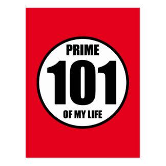 101 - eerste van mijn leven briefkaart