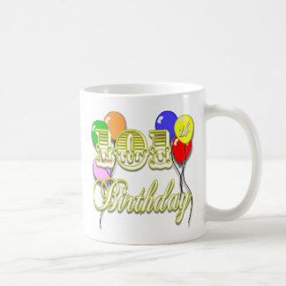 101ste Verjaardag met Ballons Koffiemok