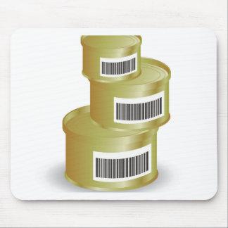 105Canned het voedsel _rasterized Muismat