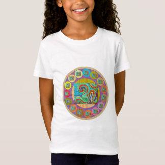 108 MANTRA van OM Stijl: Sh T-shirt van Jersey van