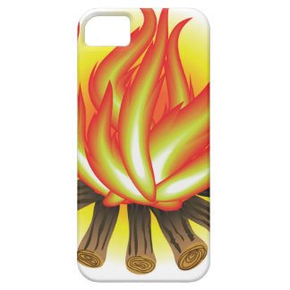 109Fire _rasterized Barely There iPhone 5 Hoesje