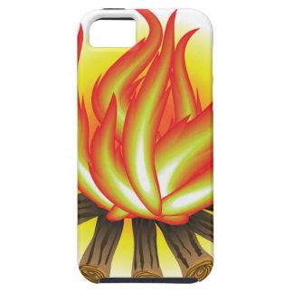 109Fire _rasterized Tough iPhone 5 Hoesje